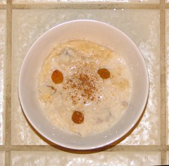 arborio rice pudding
