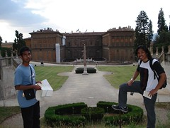 Dalam Boboli Garden, Florence, Italy
