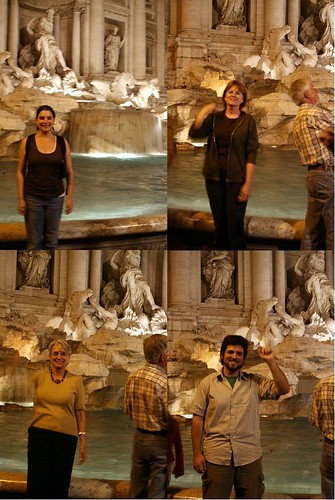 Trevi Fountain Coin-Tossing