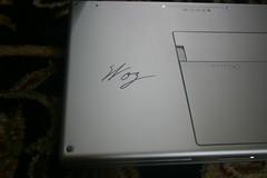 Woz signed my MacBook