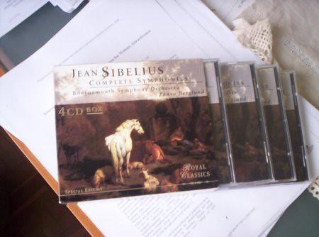 CD de sibelius
