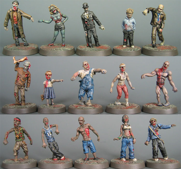 Call Of Cthulhu Miniatures. The miniatures are