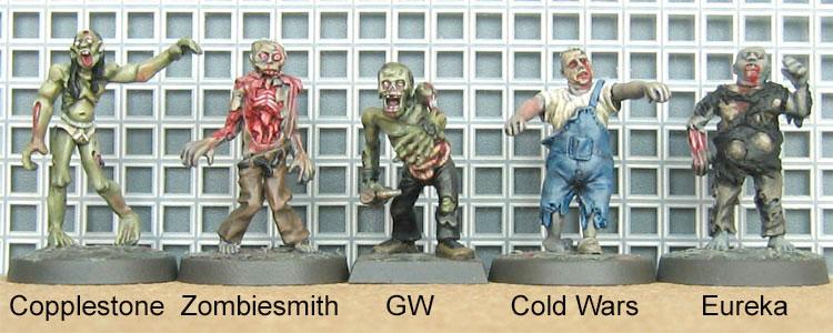 Zombie Comparison 1