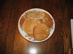 Yes, my good yeomen – I have received the PANCAKES – and no, they are not green!