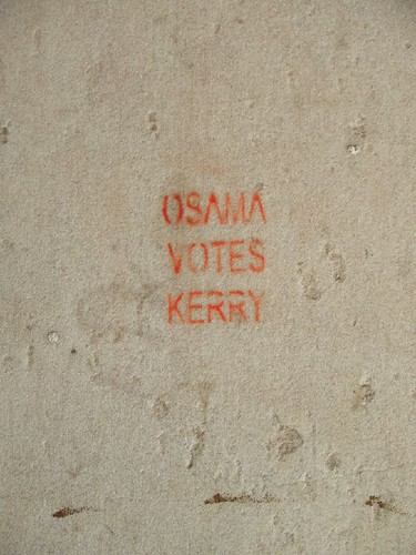 Osama Votes Kerry