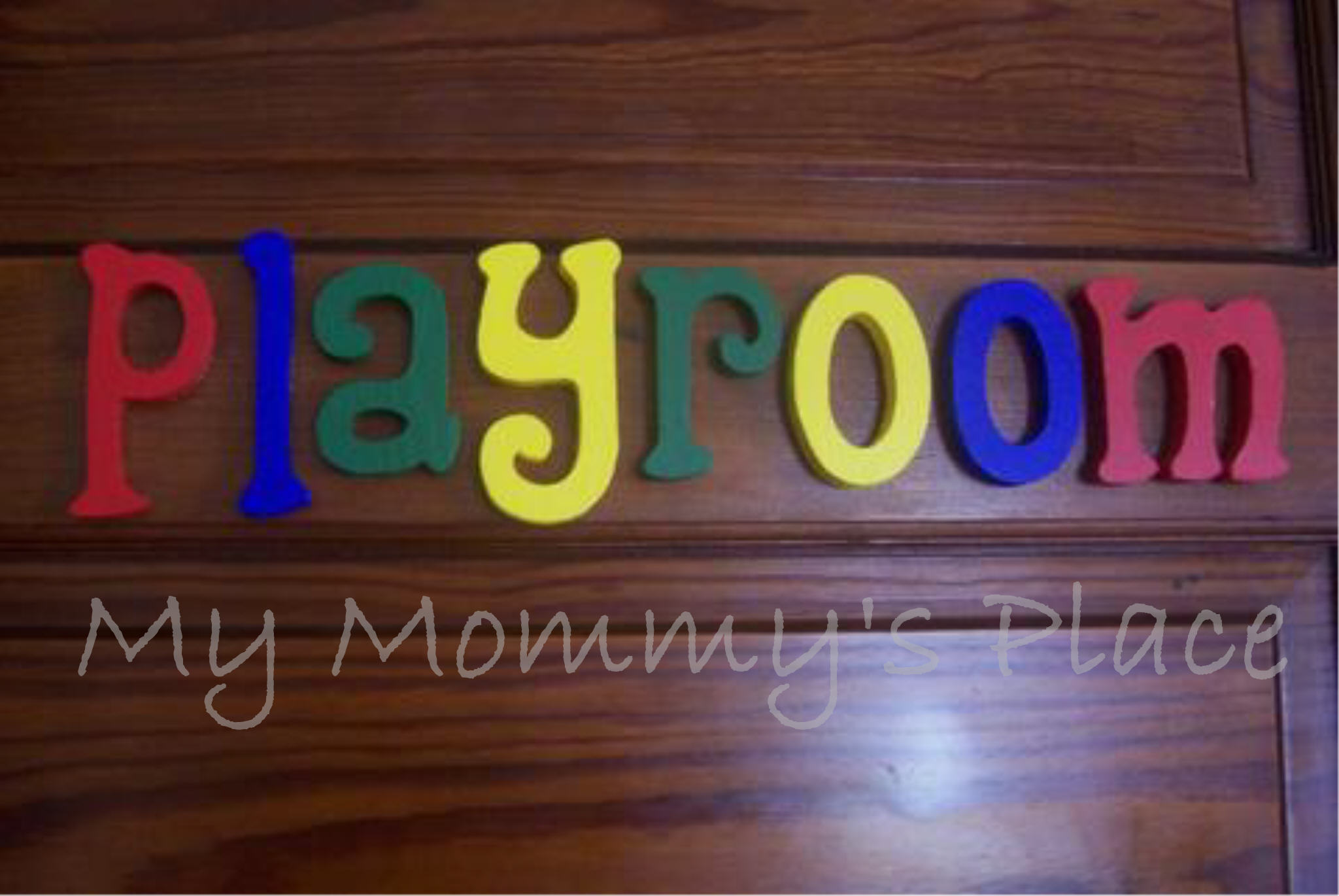 The Play Room Letters