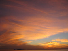 sunset from my apt