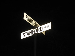 Princeton-Stanford intersection
