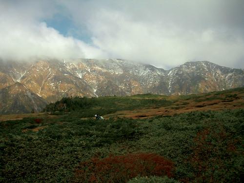 середина гор