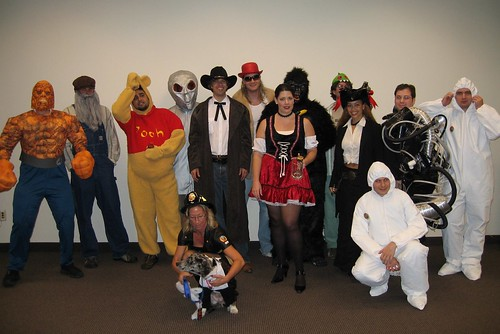 Halloween at Mozilla HQ; props to Window for the photo