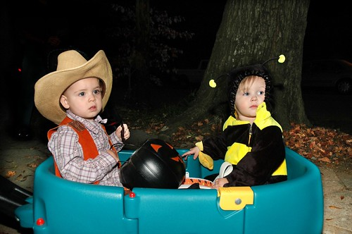 Cowgirl and Bumble Bee