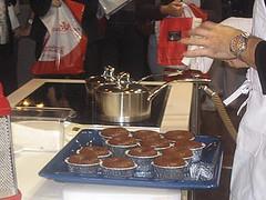 moelleux au chocolats cuits