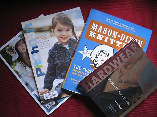 new books and mags