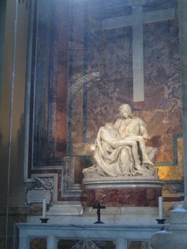 聖彼得大教堂 米開朗基羅的聖殤