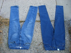 Jeans: New and Old (front)