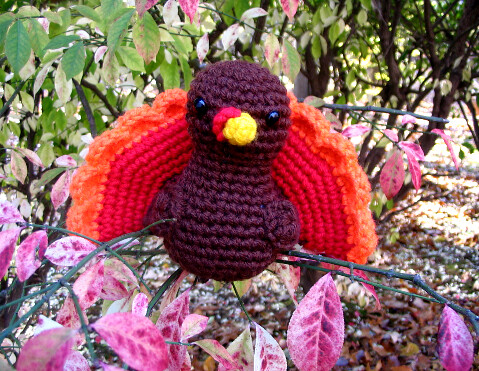 Free Turkey Amigurumi Pattern : Law student to life student: 20 free diy crochet thanksgiving