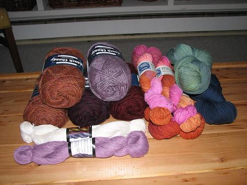 stitches yarn