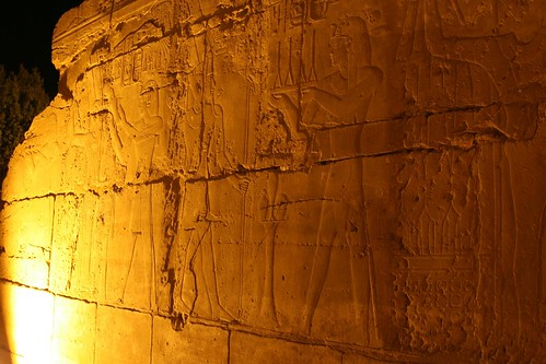 Detail of Luxor Temple