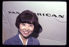 Pan Am Stewardess, late 1960's
