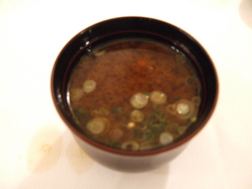 Kiss (San Francisco) - Miso soup