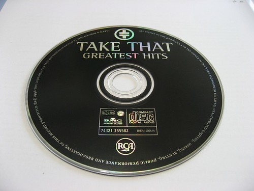 The CD of TAKE THAT - GREATEST HITS