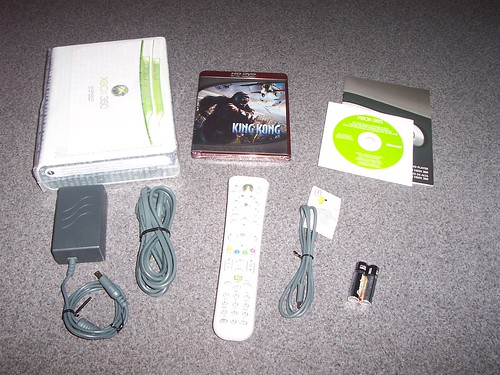XBOX 360 HD-DVD player unboxed