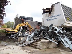 JRC Demolition of Old Building