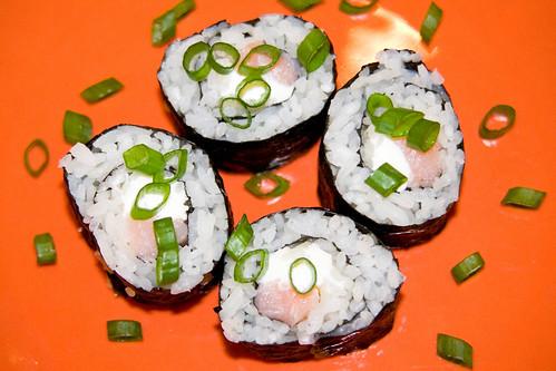 Philadelphia Roll Sushi