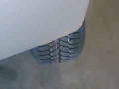 Bunter Reifen
