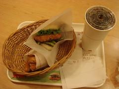 推薦套餐:桂花豬排珍珠堡 (by Tomky)