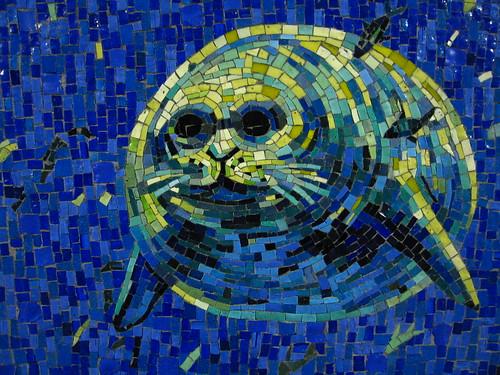 Nyc Subway Mosaic Seal Mosaic Art Source
