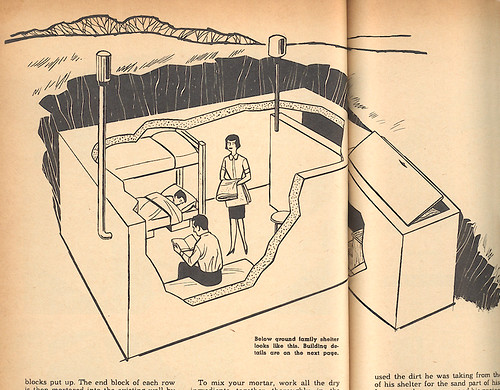 Family Shelter cross-section illustration