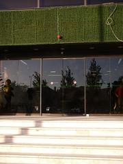 Porta principal do Centro Comercial Palmeiras