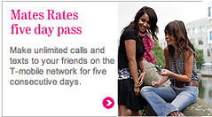 mates rates five day pass