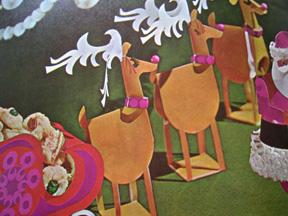 Retro Reindeer