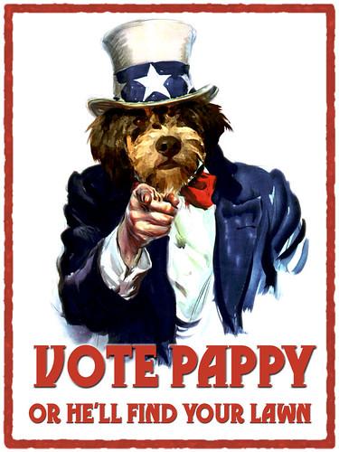 Vote Pappy!