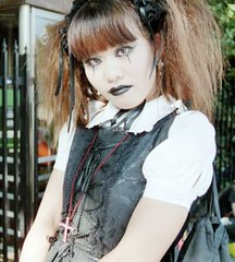 some random harajuku girl on a stock photography site