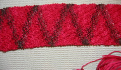 Diagonal Rib Scarf