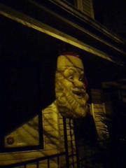 Giant Santa Head