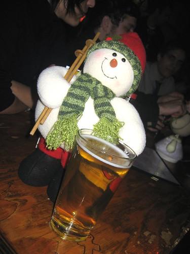 BeerSnowman