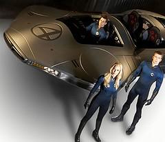 Fantastic four Fantasticar Cuatro Fantásticos 4