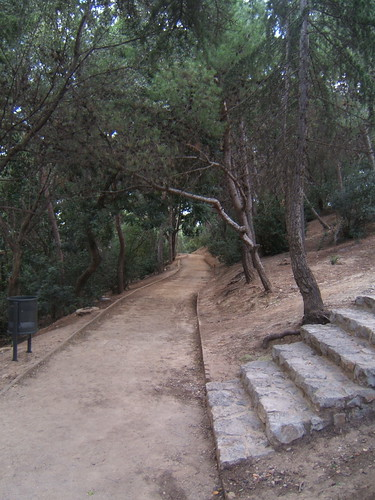 Hike in Parc Guell