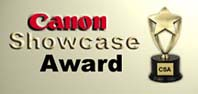 Canon Showcase Award