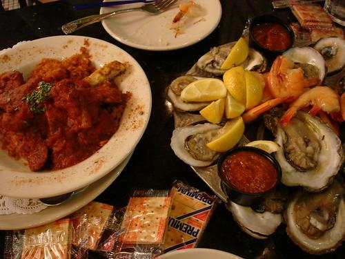Jambalaya, Oysters, Shrimp at Desire