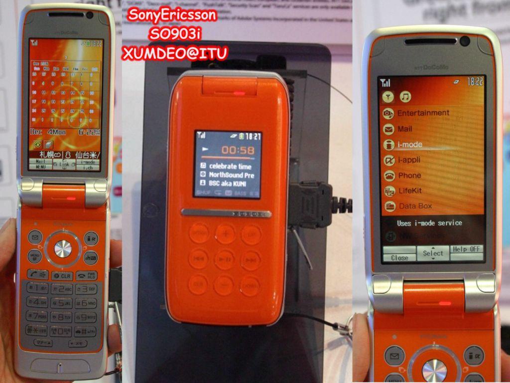 SonyEricsson SO903i