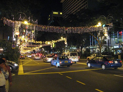 Singapore Orchard Road.. All decked up for Chirstmas