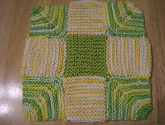 Nine Patch Dish Cloth
