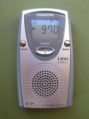 Sangean DT-210V Pocket AM/FM Radio