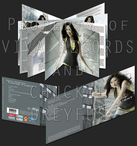Sarah Album Cover and Inlay (800px) 2