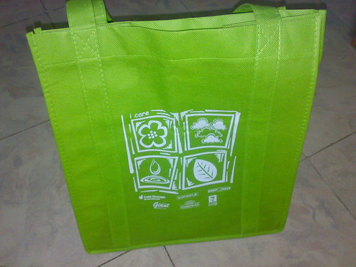 Save the earth bag..